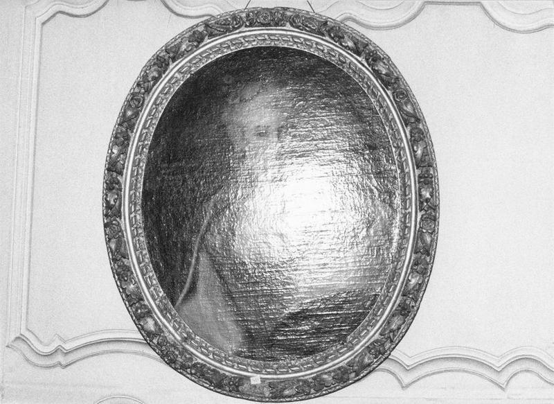Tableau, cadre : Françoise Bernardine de Froissard, vue générale