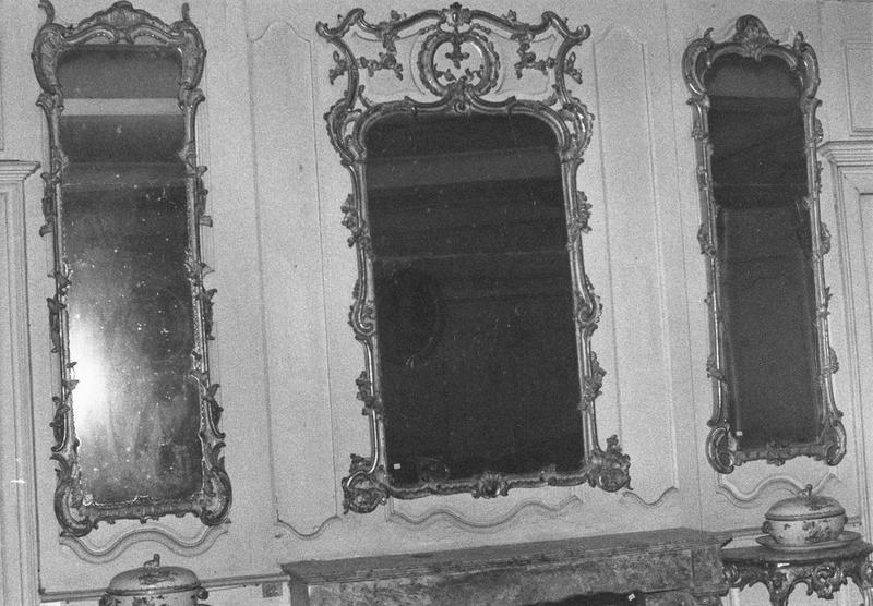 miroirs d'applique, vue générale
