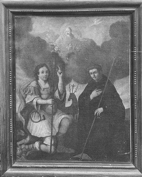 Tableau : La Vision de saint Hubert, vue générale