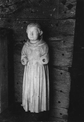 Gisant de Jean de Bourgogne, fils de Mahaut d'Artois, dite statue de saint Philibert, pierre sculptée