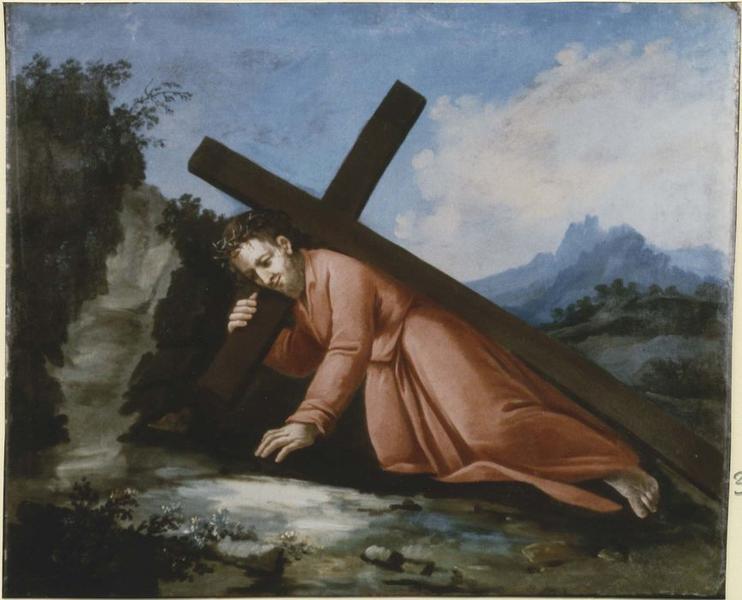 Tableau: Portement de croix (le), vue générale