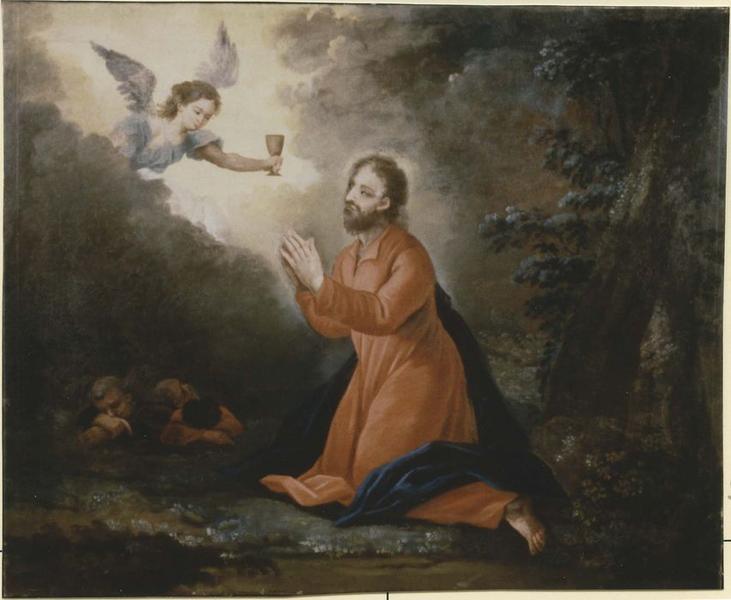 Tableau: Christ au jardin des oliviers (le), vue générale