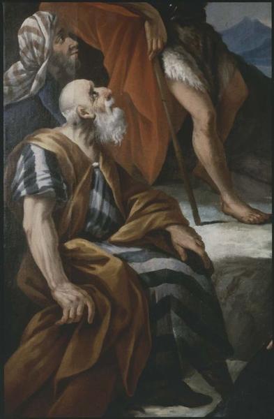 Tableau du maître-autel: saint Jean-Baptiste prêchant, détail
