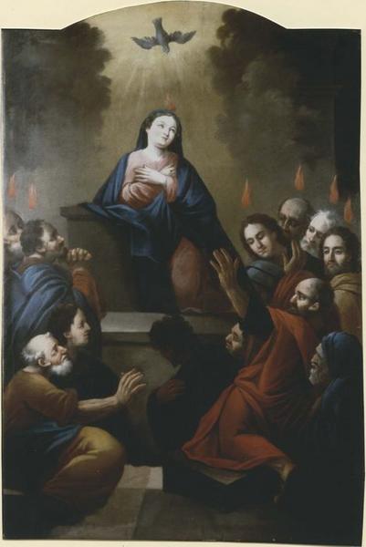 Tableau: Pentecôte, vue générale