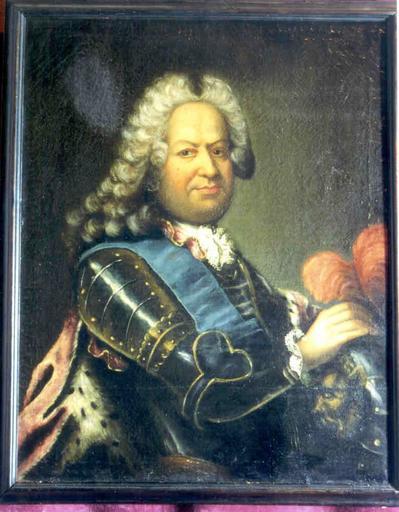 Tableau : portrait de Stanislas Leczinski, roi de Pologne