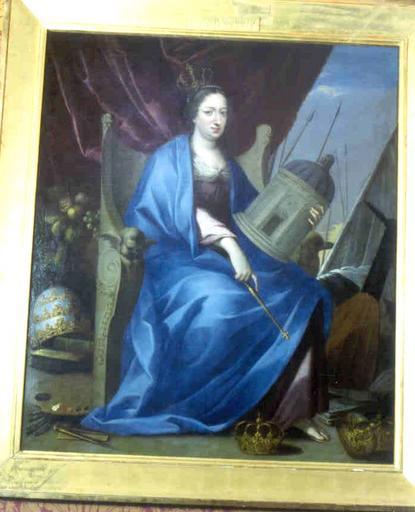 Tableau : portrait allégorique d'Anne d'Autriche