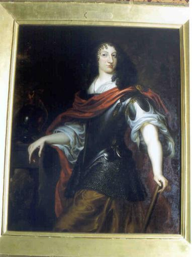 Tableau et cadre : portrait de Christine de Suède