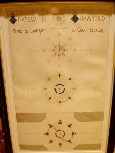 Planche avec 4 plans des niveaux de la lanterne (1892)