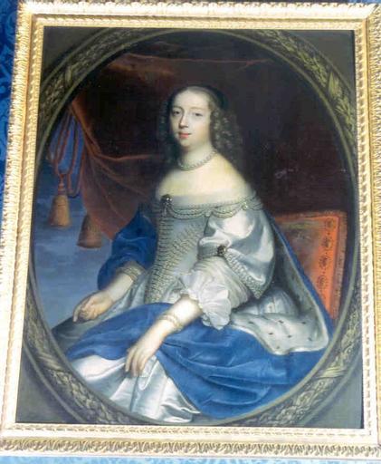 Tableau : portrait de Claire-Clémence de Maillé, princesse de Condé