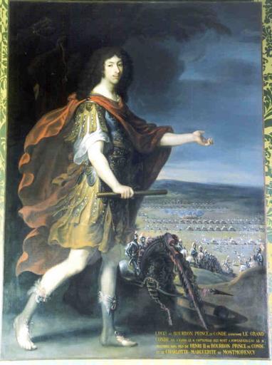 Tableau : portrait du Grand Condé