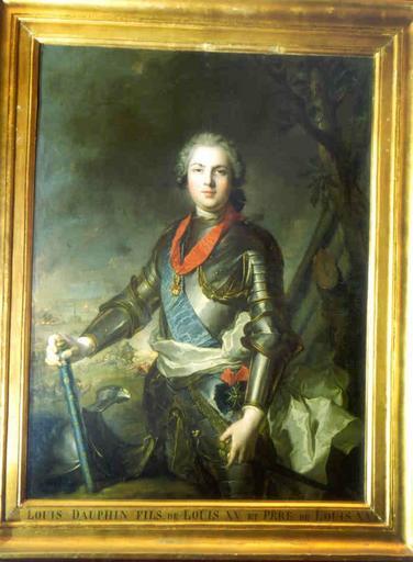 Tableau : portrait de Louis, Dauphin, fils de Louis XV