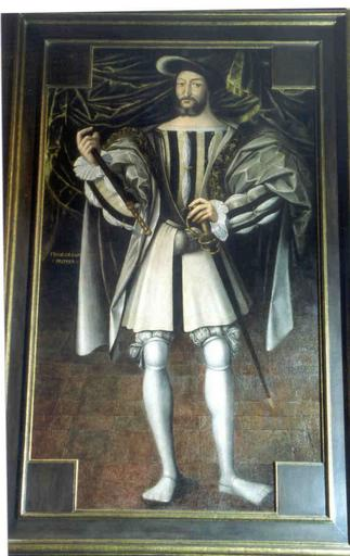 Tableau : portrait en pied de François Ier