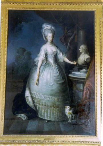 Tableau : portrait de Marie-Antoinette