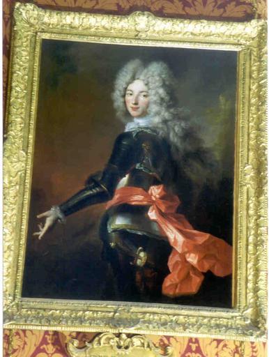 Tableau et cadre : Portrait de Charles de Sainte-Maure, duc de Montausier