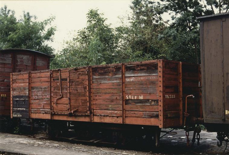 wagon tombereau type 1904, à voie métrique, TK 364