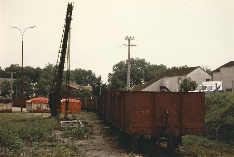 wagon tombereau à voie métrique, TK 336