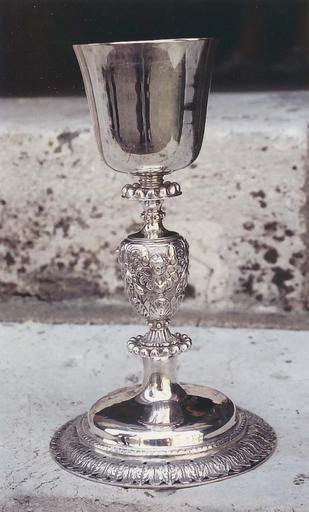 Calice, argent, 17e siècle