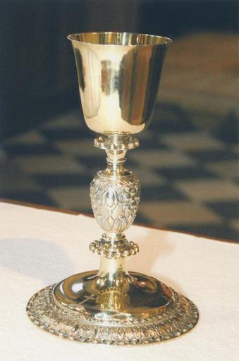 Calice, vermeil, début 18e siècle