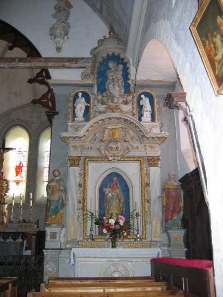 Retable de la chapelle du Rosaire