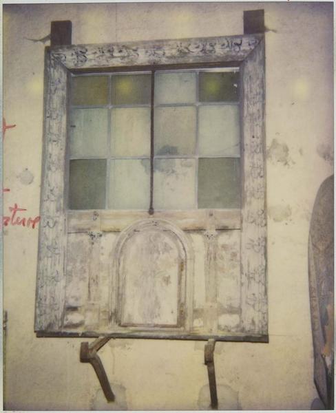 Vantail de fenêtre, vue générale