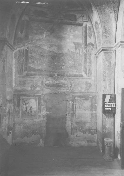 Peintures monumentales de la sacristie