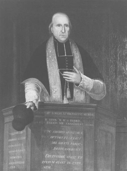 Tableau : Portrait de dom Philippe Samoël