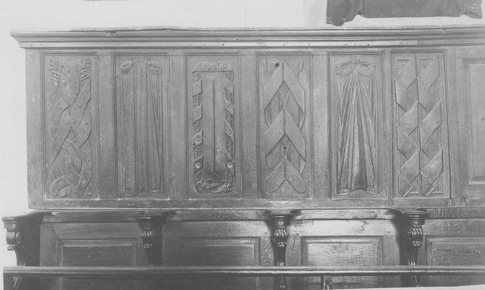 6 reliefs (panneaux sculptés)