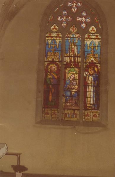 Verrière : Saint Louis et saint Joseph