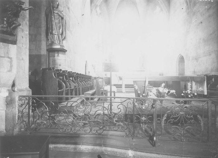 Clôture de choeur (grille ou appui de communion)