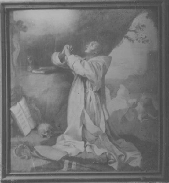 Tableau : Saint Bruno en extase