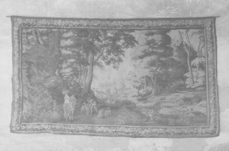 Pièce murale : verdure