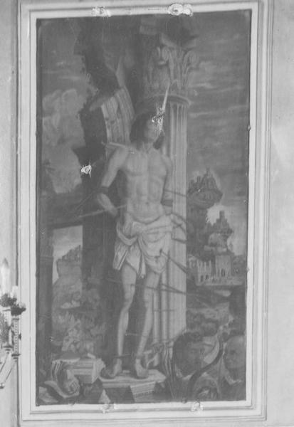 Tableau : Le Martyre de saint Sébastien