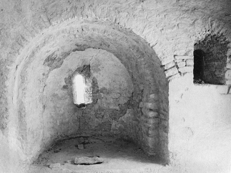 Eglise abbatiale, intérieur : absidiole