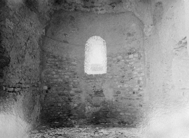 Eglise abbatiale, intérieur : absidiole du transept sud