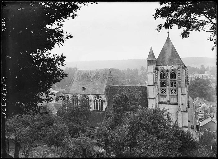 Eglise et nef