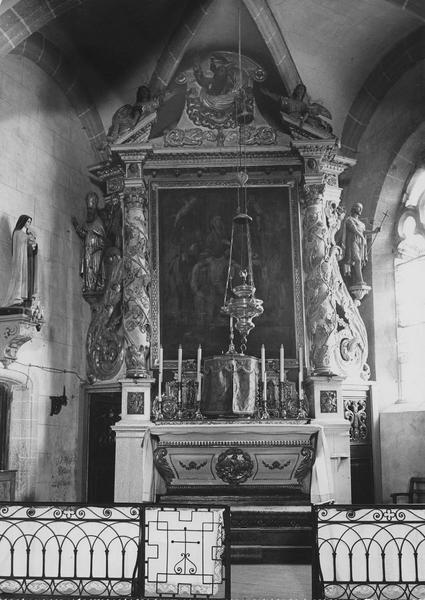 ensemble du maître-autel (autel, tabernacle, retable)