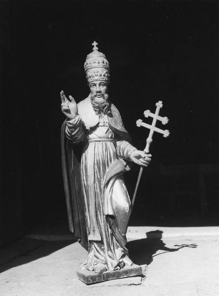 statue : saint Sylvestre