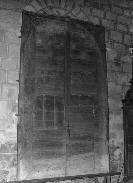 Deux vantaux du portail