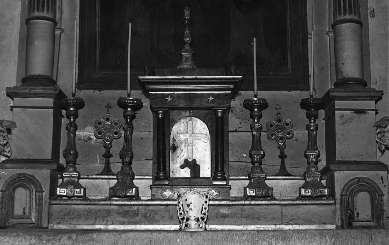Tabernacle du maître-autel, style Empire.