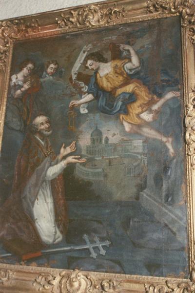 tableau : remise des clefs à saint Pierre