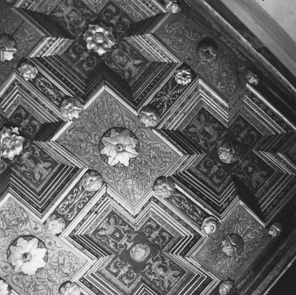 plafond dit de la chambre papale