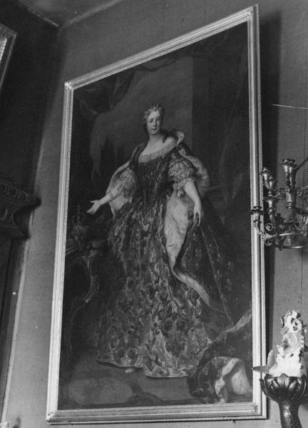 tableau : portrait de Marie Leczinska