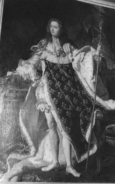 tableau : portrait de Louis XV