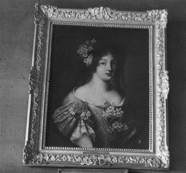 tableau : portrait d'une de soeurs Mancini, nièce de Mazarin