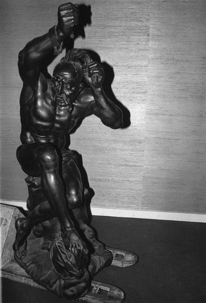 statue : un esclave dit du tombeau de Jean Sobieski