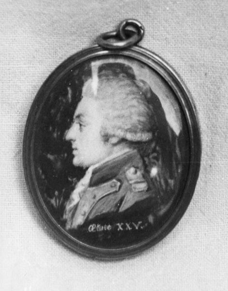 miniature : portrait d' Imbert représentant du peuple