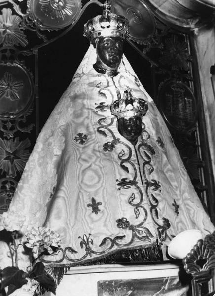 statue : Vierge en majesté, dite Vierge noire