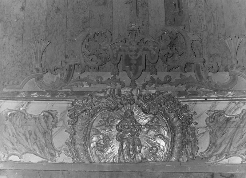 Devant d'autel : l'Assomption