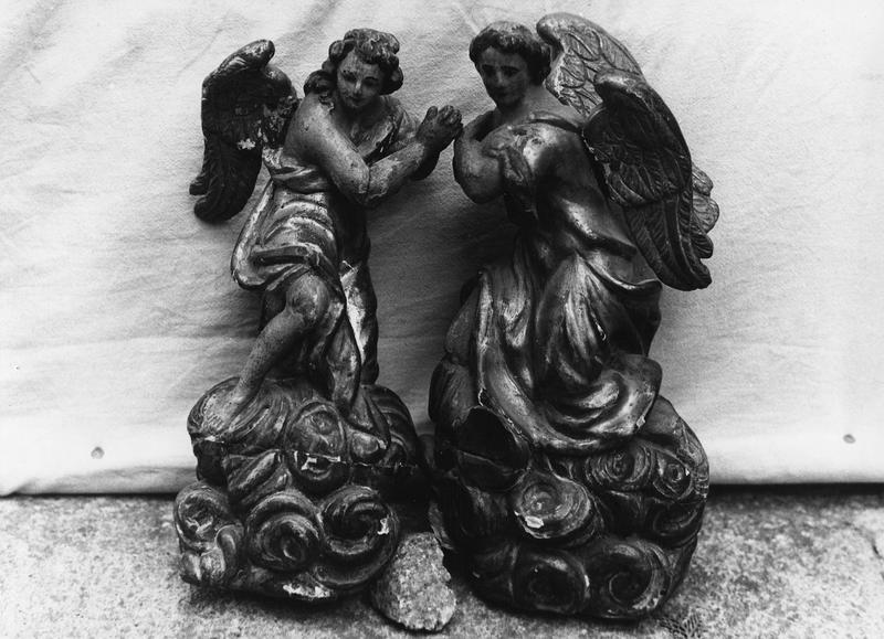 Statuettes (6) : anges.