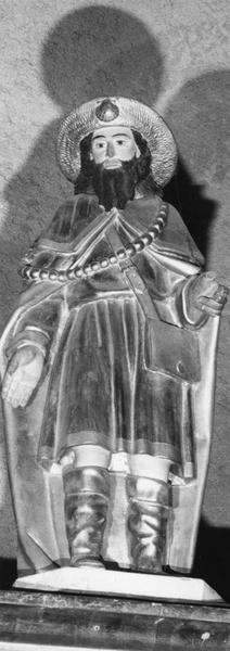 statuette : saint Jacques